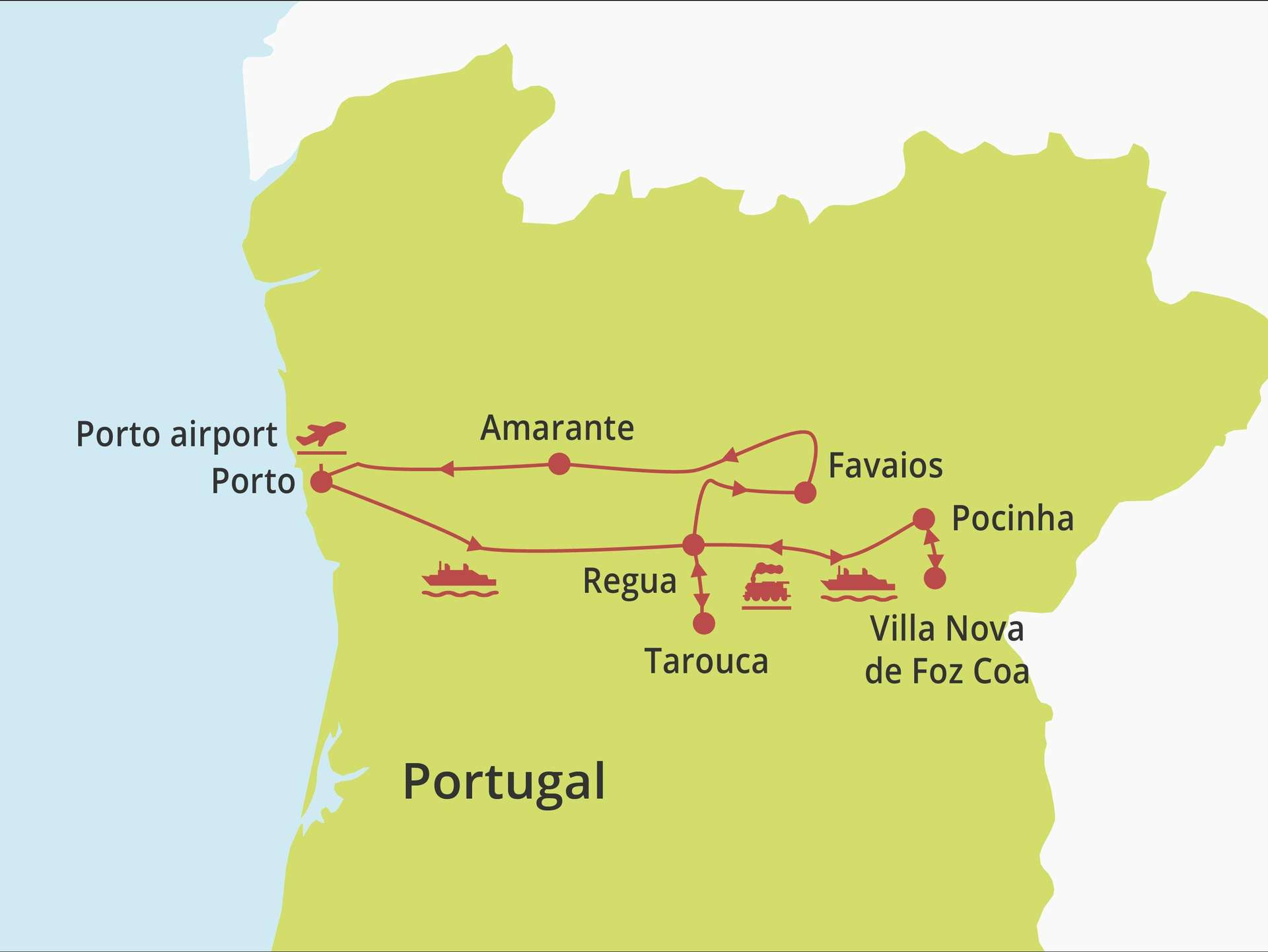 Fly-drive Douro Special